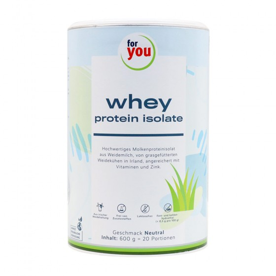 for you whey portein isolate neutral