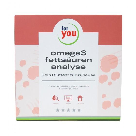 for you omega 3 test - fettsäuren analyse