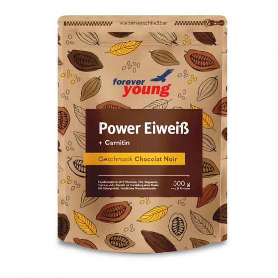 Power Eiweiß Nachfüllbeutel - Chocolat Noir