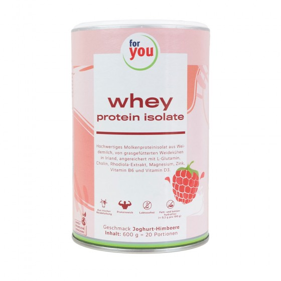 for you Whey Protein Isolate Joghurt-Himbeer