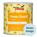 forever young Power Eiweiß Dose Vanille