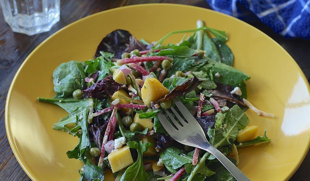 Apfel-Matjes-Salat