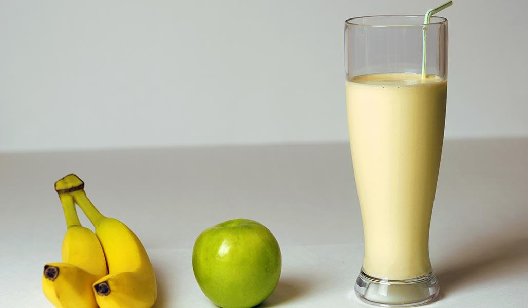 Kirsch-Buttermilch-Drink