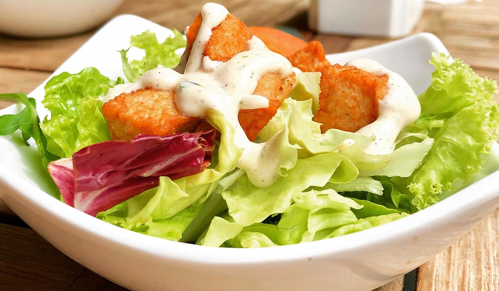 MCT-Öl Zitronen-Salatdressing