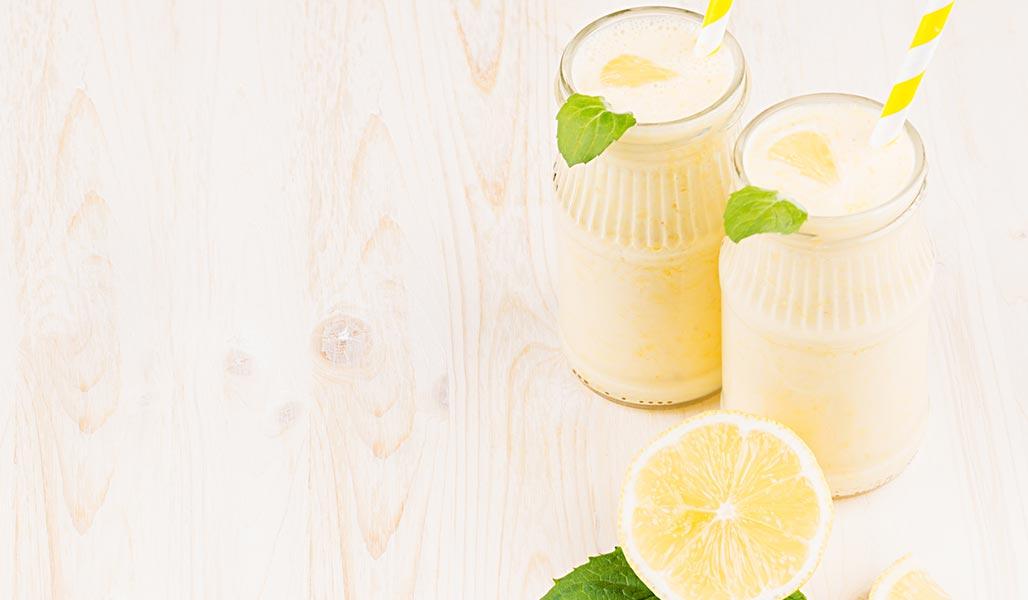 MCT-Vanille-Zitronen-Shake